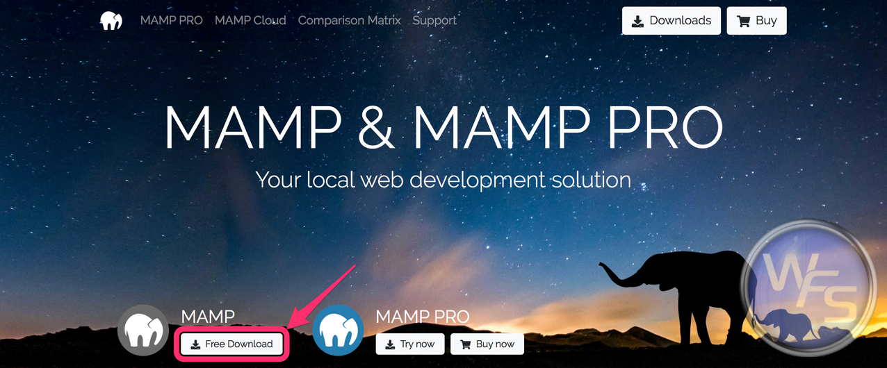 Dropbox xampp mamp mac setting02
